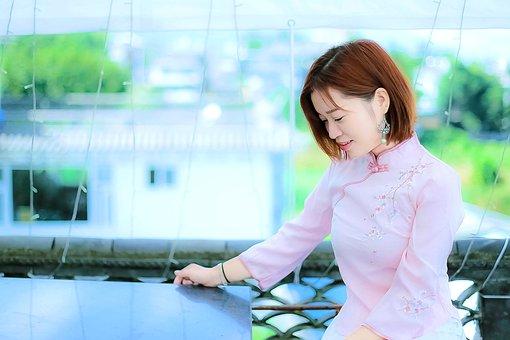 Beautiful, Woman, Chinese Beauty, China