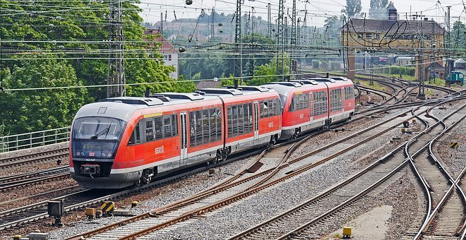 Diesel Railcar, Double Unit, Siemens, Desiro, Br642