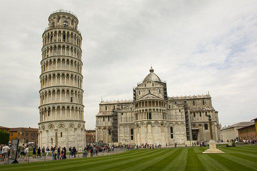 Architecture, Travel, Outdoors, Building, Tower, Pisa