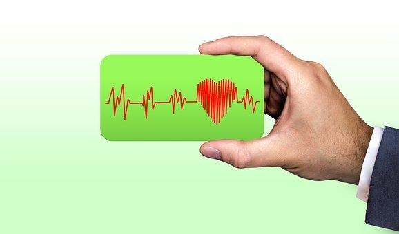 Business, Businessman, Business Card, Heart, Curve