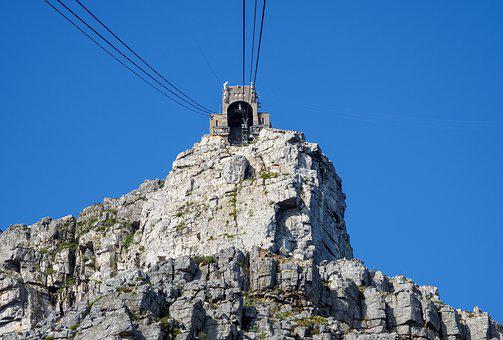 Table Mountain, Cable Station, Cable Car, Mountain