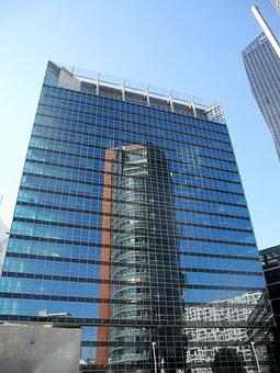 Architecture, Skyscraper, Company, Glass, City, Large