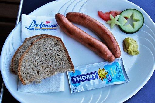 On The Ship, Eating, Modest, Bread, Appetizer, Dinner