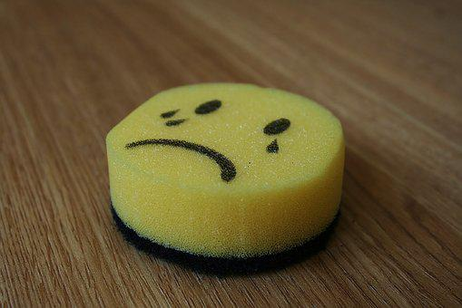 Smilie, Emoticon, Sad, Smiley, Yellow, Face, Emotion