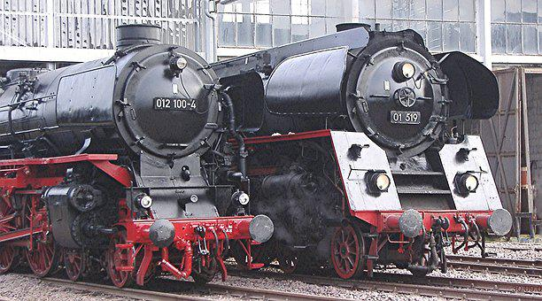 Steam Locomotives, Fast Classes, Drg Class 01