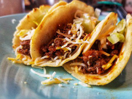 Food, Dinner, Meal, Meat, Tacos, Tortilla, Delicious