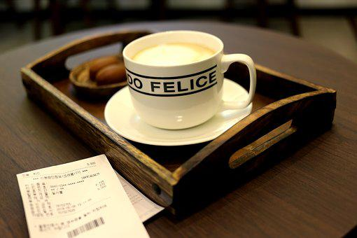 Coffee, Drink, Cup, Espresso, Table, Hot, Dawn, Wood