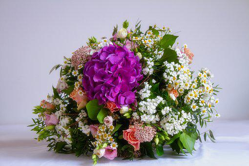 Flower, Bouquet, Colorful, Give, Spring Flowers, Joy