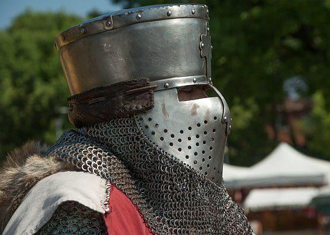 Middle Ages, Armor, Chivalry, Knight, Helmet