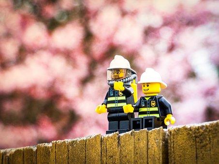 Outdoors, Flower, Wood, Park, Landscape, Fence, Lego