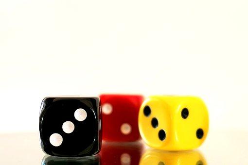 Gamble, Luck, Cube, Gambling, Leisure, Play, Risk