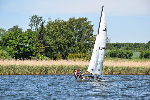 Sailing Boat, Waters, Boot, Lake, Leisure