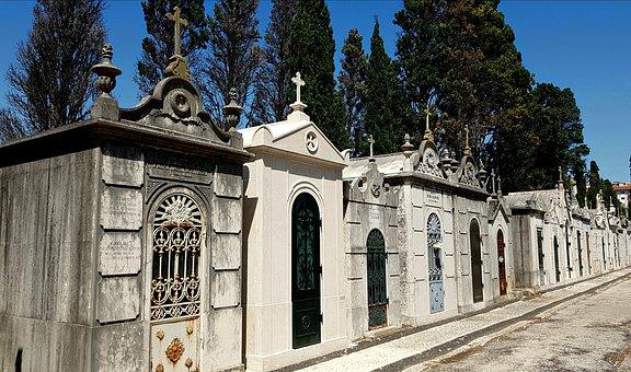 Cemetery, Grave, Lisbon, Gravestone, Old, Antique