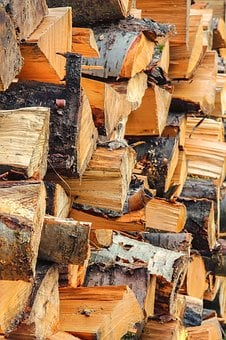 Wood, Log, Lumber, Wood For The Fireplace, Dry