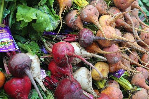 Food, Vegetable, Root, Healthy, Market, Turnips