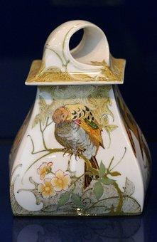 Ceramics, Pot, Bird, Painting, Art, Work Of Art