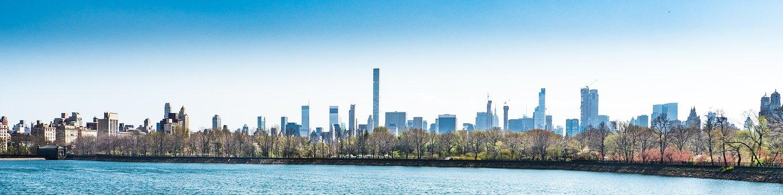 New York City, Central Park, Panoramic, Panorama, City