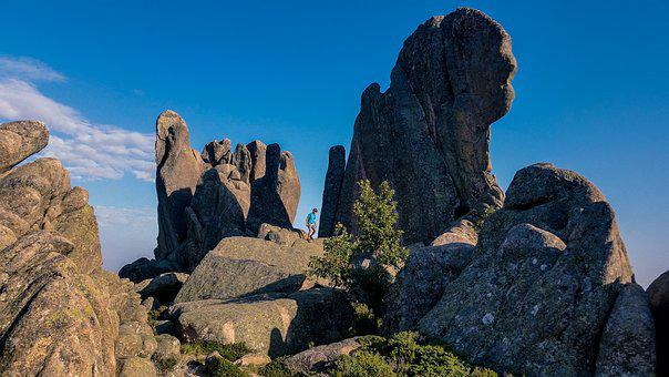 Panoramic, Nature, Rock, Sky, Outdoors, Stone, Geology