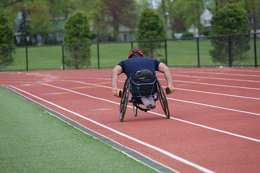 Competition, Athletics, Race, Runner, Race Wheelchair