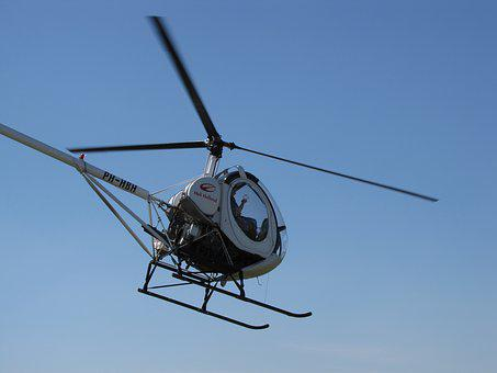 Helicopter, Technology, Flight, Rotor, Outdoor