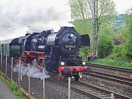 Steam Locomotive, Goods Train Locomotive