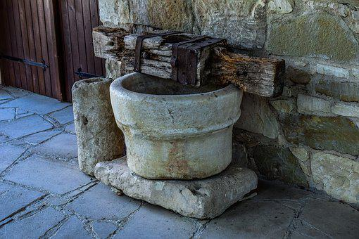 Old, Stone, Architecture, Tool, Wood, Traditional