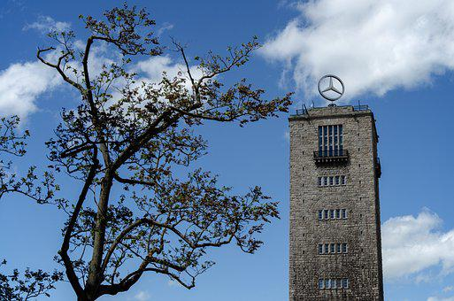 Sky, Tree, Stuttgart, Central Station, S21, Tower