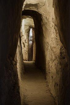 Tunnel, Dark, Narrow, Light, Passage, Underground