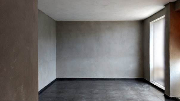 Room, Vacuum, In, Inside, Contemporary, Wall