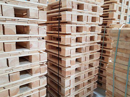 Wood, Box, Warehouse, Pallet, Transport