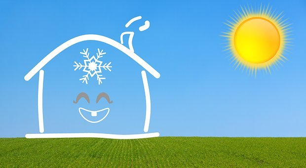 Air Conditioning, Air, Conditioning, House, Cooling