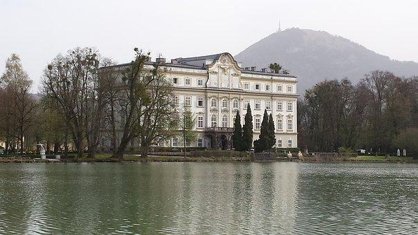 Saltzberg, Architecture, Historical, Historic, Pond
