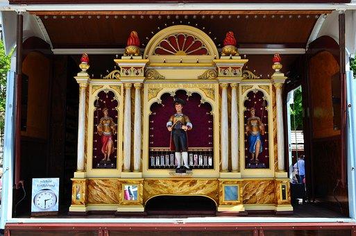 Orchestrion, Organ, Roller Organ, Instrument, Baroque