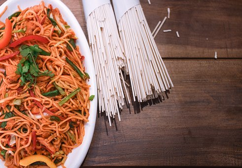 Chicken Chowmein, Noodles, Chinese, Savory, Flavor