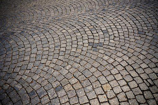 Cobblestone, Patch, Road, Stones, Away, Cobblestones