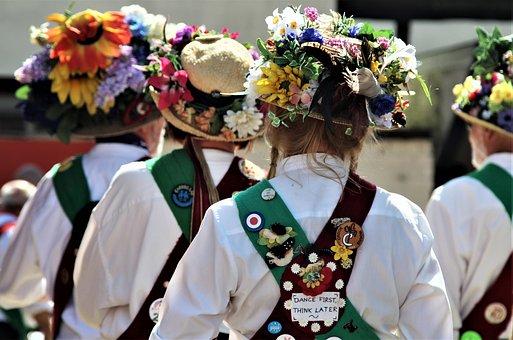 Morris Men, Folk, Dance, Costume