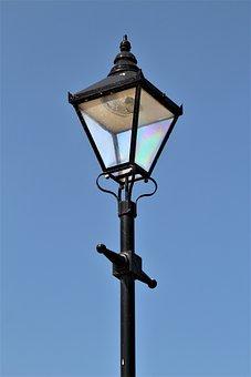 Lantern, Lamp, Lamppost, Streetlight, Electricity, Sky