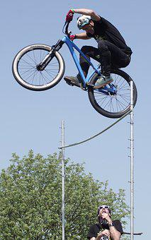 Stunt, Bike, Action, Extreme Sport, Mountain Bike