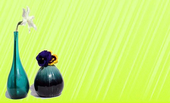 Flowers, Vase, Spring, Floral, Bloom, Plant, Blossom