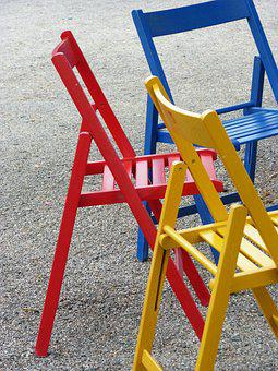 Chairs, Colors, Folding Chairs, Sit
