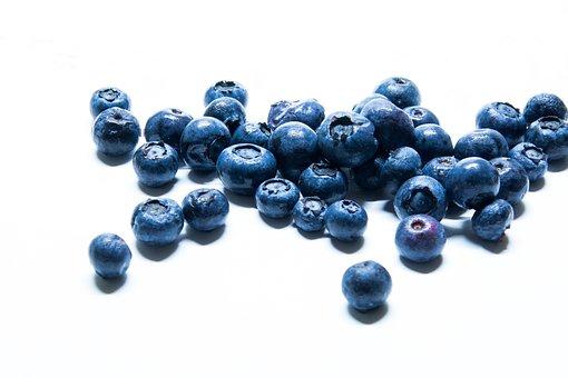 Blueberries, Dessert, Fruit, Healthy, Fruits, Delicious