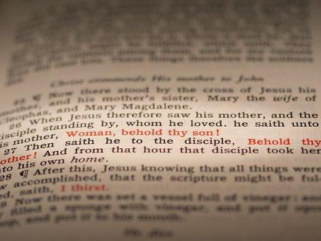 Seven Last Words Of Christ, Third Word, John 19 26-27