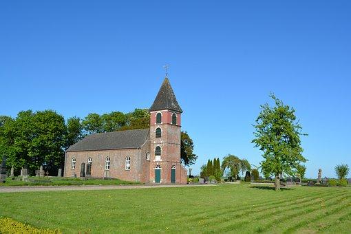 Landscape Polder, Municipality Of Bunde, Dollart