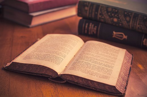 Culture, Open Book, Old Book, Pages, Old, Literature