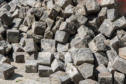 Stone, Berlin Patch, Paving Stones, Pattern, Rau