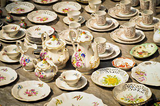 Porcelain, Coffee Service, Tableware, Use Items, Cup
