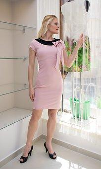 Fashion, Model, Dress, Posing, Style, High Heels, Lady