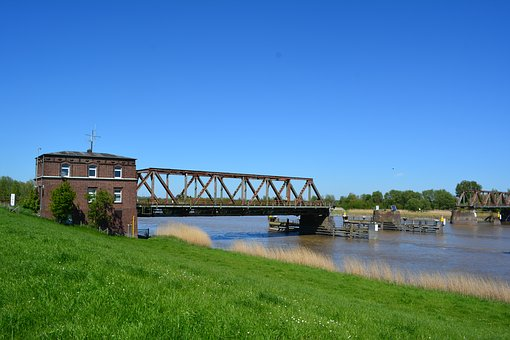 Fries Bridge, Weener, Railway Bridge, Defect
