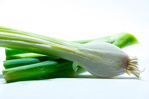 Spring Onion, Onion, Vegetables, Raw, Food, Vitamins