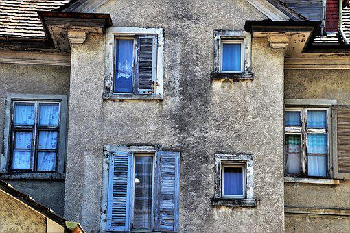 Facade, The Window, Architecture, Shutters, Pane